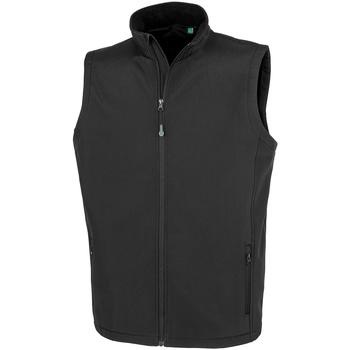 Textiel Heren Vesten / Cardigans Result Genuine Recycled R902M Zwart