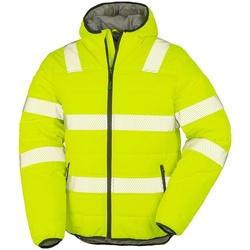 Textiel Heren Jacks / Blazers Result Genuine Recycled R500X Fluorescerend Geel
