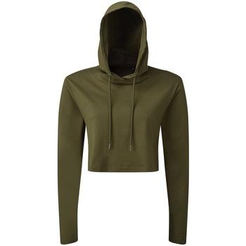 Textiel Dames Sweaters / Sweatshirts Tridri TR088 Olijf