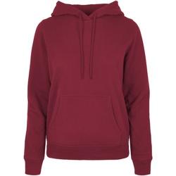 Textiel Dames Sweaters / Sweatshirts Build Your Brand BB007 Bourgondië