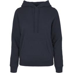 Textiel Dames Sweaters / Sweatshirts Build Your Brand BB007 Marine