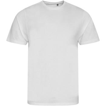 Textiel Kinderen T-shirts korte mouwen Ecologie EA01J Arctisch Wit