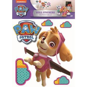 Wonen Stickers Paw Patrol TA7918 Bruin/roze