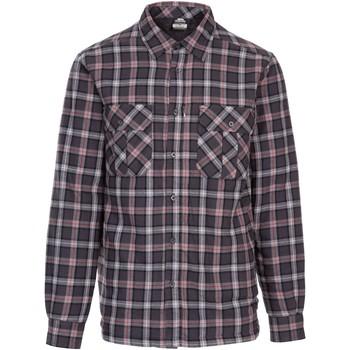 Textiel Heren Overhemden lange mouwen Trespass  Donkergrijs