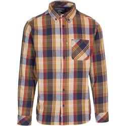 Textiel Heren Overhemden lange mouwen Trespass  Zandsteen
