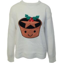 Textiel Dames Sweaters / Sweatshirts Brave Soul  Crème