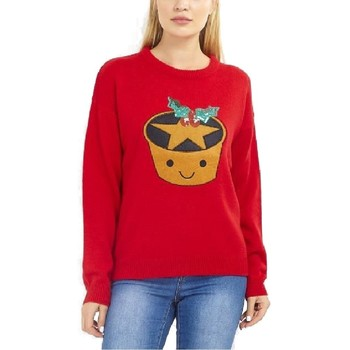 Textiel Dames Sweaters / Sweatshirts Brave Soul  Rood