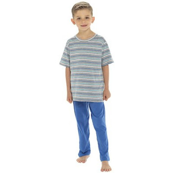 Textiel Jongens Pyjama's / nachthemden Tom Franks  Marine