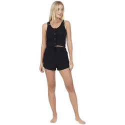Textiel Dames Pyjama's / nachthemden Brave Soul  Zwart
