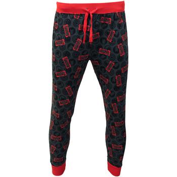 Textiel Heren Pyjama's / nachthemden Marvel  Rood/Grijs