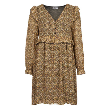 Textiel Dames Korte jurken Betty London PIXONE Brown