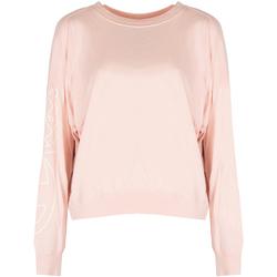 Textiel Dames T-shirts met lange mouwen Champion  Roze