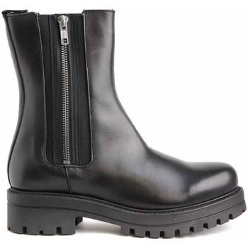 Schoenen Dames Enkellaarzen Colour Feet 21544 Zwart