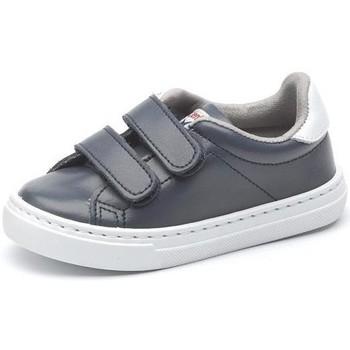 Schoenen Meisjes Lage sneakers Cienta Chaussures fille  Deportivo Scractch Piel bleu marine