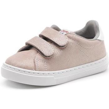 Schoenen Meisjes Sneakers Cienta Chaussures fille  Deportivo Scractch Glitter rose