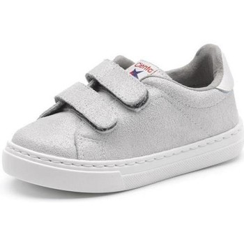 Schoenen Meisjes Lage sneakers Cienta Chaussures fille  Deportivo Scractch Glitter gris clair