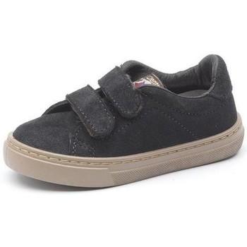 Schoenen Meisjes Sneakers Cienta Baskets  Deportivo Velcro On Suede noir