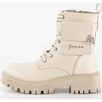Schoenen Dames Laarzen Keslem 8391 Beige