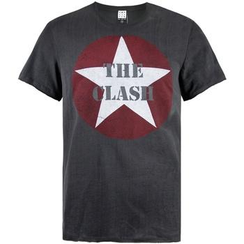 Textiel Heren T-shirts korte mouwen Amplified  Houtskool