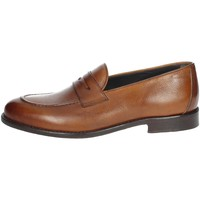 Schoenen Heren Mocassins Veni DP009 Brown leather