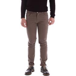 Textiel Heren Broeken / Pantalons Sei3sei 02396 Bruin