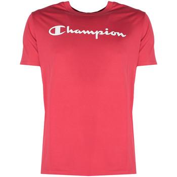 Textiel Heren T-shirts korte mouwen Champion  Rood