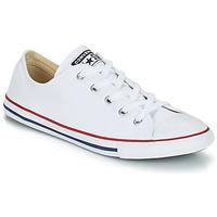 Schoenen Lage sneakers Converse ALL STAR DAINTY OX Wit / Rood
