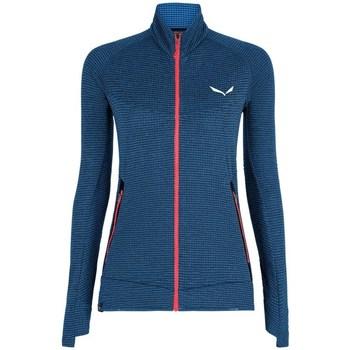 Textiel Dames Sweaters / Sweatshirts Salewa Pedroc PL R W FZ Bleu marine