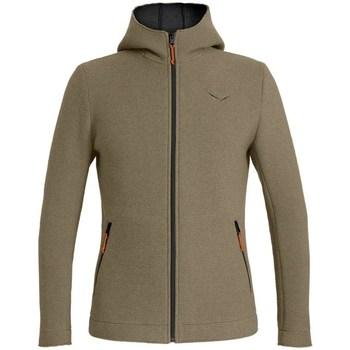 Textiel Heren Sweaters / Sweatshirts Salewa Sarner 2L WO M FZ Hdy Olive