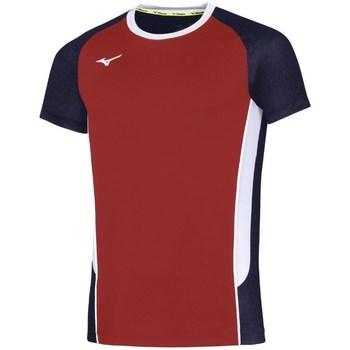 Textiel Heren T-shirts korte mouwen Mizuno Premium High Kyu Noir