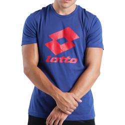 Textiel Heren T-shirts korte mouwen Lotto  Blauw