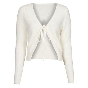 Textiel Dames Vesten / Cardigans Yurban  Wit