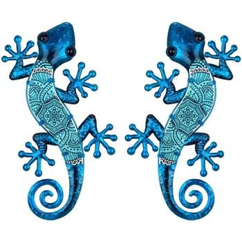 Wonen Beeldjes Signes Grimalt Figuur Hagedissen 2 Eenheden Azul