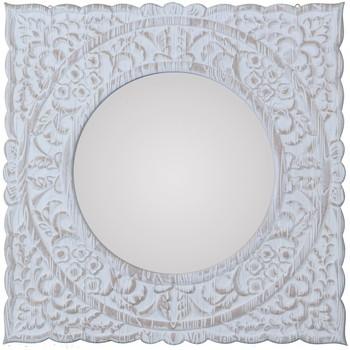 Wonen Spiegels Signes Grimalt Spiegel Blanco
