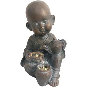 Wonen Beeldjes Signes Grimalt Fountain Buddha Led. Marrón