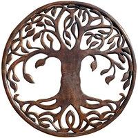 Wonen Schilderijen Signes Grimalt Ornament Wall Tree Marrón
