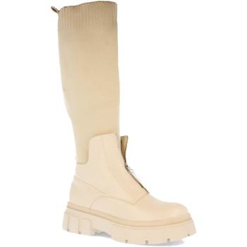 Schoenen Dames Hoge laarzen Ainy 7776 Beige