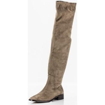 Schoenen Dames Hoge laarzen Corina M1801 Beige