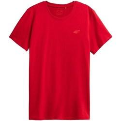 Textiel Heren T-shirts korte mouwen 4F TSM352 Rouge