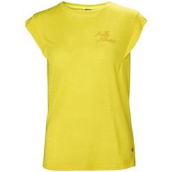 Textiel Dames T-shirts korte mouwen Helly Hansen Siren Spring Jaune
