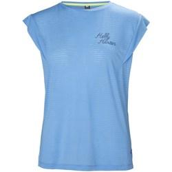 Textiel Dames T-shirts korte mouwen Helly Hansen Siren Spring Bleu