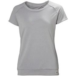 Textiel Dames T-shirts korte mouwen Helly Hansen Malla Gris