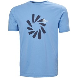 Textiel Heren T-shirts korte mouwen Helly Hansen The Ocean Race Bleu