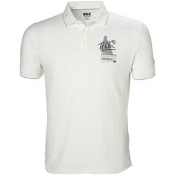Textiel Heren Polo's korte mouwen Helly Hansen Racing Blanc