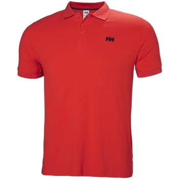 Textiel Heren Polo's korte mouwen Helly Hansen Driftline Rouge