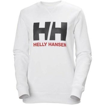 Textiel Dames Sweaters / Sweatshirts Helly Hansen HH Logo Blanc