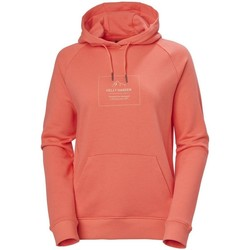 Textiel Dames Sweaters / Sweatshirts Helly Hansen F2F Cotton Hoodie Rouge