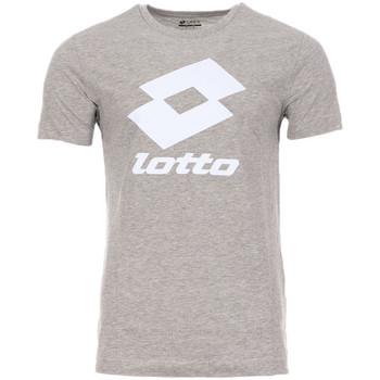 Textiel Heren T-shirts korte mouwen Lotto  Grijs