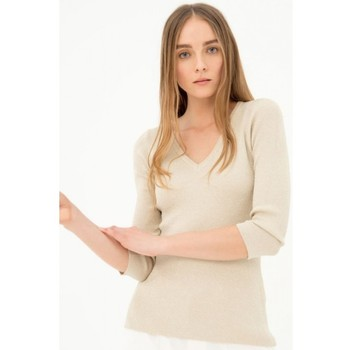 Textiel Dames Truien Fracomina FR21ST7004K43201 Incolore