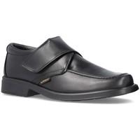 Schoenen Heren Mocassins Cbp - Conbuenpie Zapatos de cordones de piel by Keelan Noir